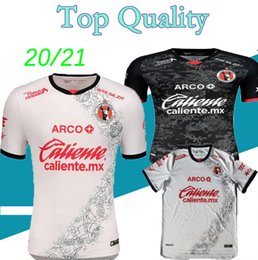 jersey tijuana UK - 20 21 Xolos Club Tijuana soccer jerseyS HOME AWAY 2021 2020 Sanvezzo Miler camisetas mexico liga mx man kids football shirt thailand