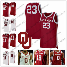a9a4e91ce26 New Jersey Basketball Canada - Custom Oklahoma Sooners 2019 New College  Basketball Red white Any Name