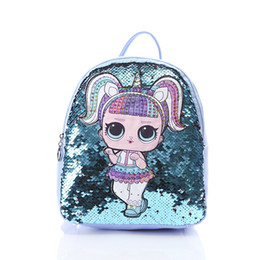 $enCountryForm.capitalKeyWord NZ - 2019 Korean Children Bag Fashion Cartoon Sequins Backpack Cute Doll Personality Trend Backpacks Rucksack Kids Girl Travel Storage Bags M119F