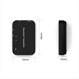 $enCountryForm.capitalKeyWord Australia - 2 In 1 Bluetooth Wireless Audio Transmitter Receiver 3.5mm AUX HIFI Music Adapter for Built-in enhanced signal transmission circuit