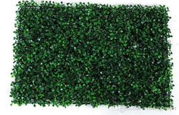 Wholesale NEW x60cm Green Grass Artificial Turf Plants Garden Ornament Plastic Lawns Carpet Wall For Wedding Xmas Party Decor