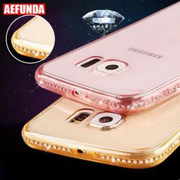 $enCountryForm.capitalKeyWord Australia - Luxury Bling Diamond Clear Phone Case For Samsung Galaxy S8 S9 S10 Plus S7 S6 Edge J6 A7 A5 Note 9 Soft Tpu Back Cover