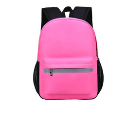 0c7d3f8b439 Reflective Design School Bags for Teenage Boys Girls Waterproof School  Backpack Kids Large Capacity Schoolbag Children Backpacks