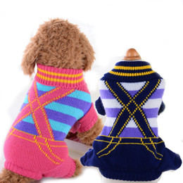 $enCountryForm.capitalKeyWord UK - Classic Dog Clothes Warm Puppy Outfit Pet Jacket Coat Winter Spring Dog Clothes Soft Sweater Clothing For Small Dogs Chihuahua