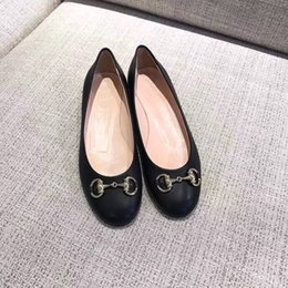 Wholesale Best Quality Brand2019 Dress Shoes Autumn Women Office Ladies Low Heel Pumps Bow Black Wedges Comfortable Heels Formal Work Mom Ladies Pumps