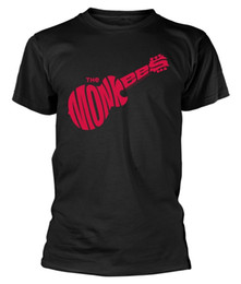 $enCountryForm.capitalKeyWord UK - The Monkees 'Guitar Logo (Black) T-Shirt - NEW & OFFICIAL Funny free shipping Unisex Casual Tshirt
