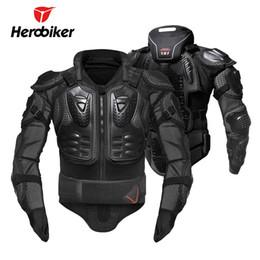 $enCountryForm.capitalKeyWord Australia - HEROBIKER Motorcycle Armor Removable Neck Protection Guards Motorcycle Jacket Racing Protective Gear Full Body Armor Protectors