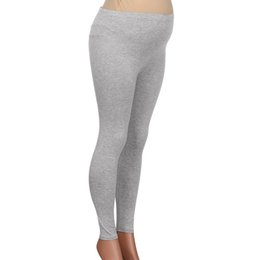 leggings pregnant Canada - 2019 spring Pregnant Leggings Pregnant Women's Pants Solid Color And Thin Maternity Pregnancy Trousers