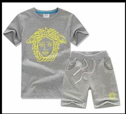 Hot Boys Winter T Shirt Australia - Boys And Girls Designer T-shirts And Shorts Suit Brand Tracksuits 2 Kids Clothing Set Hot Sell Fashion Summer Children's T52127