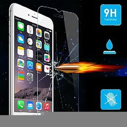 tempered glass screen iphone 6s Canada - 9H Hardness Real Tempered Glass Screen Protector for iPhone 6 6S 4.7 inch Screen