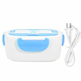 $enCountryForm.capitalKeyWord NZ - Portable Electric Lunch Box Heated Food Containers Meal Prep Rice Food Warmer Dinnerware Sets For Kid Bento Box Travel Office C18122201