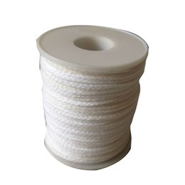$enCountryForm.capitalKeyWord UK - Environmental Candle Making Supplies Spool Of Cotton Braid Candle Wicks 61M*2.5MM Candle Making Kits 30 Pieces ePacket