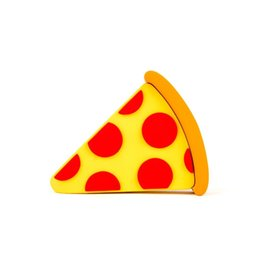 charging power bank UK - Pizza Power Bank emoji Charges usb Phone Pizza PowerBank for iphone7