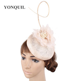 $enCountryForm.capitalKeyWord Australia - Elegant women wedding party fascinators floral ladies hats fashion derby occasion event female chapeau hair clips accessories free shipping