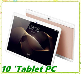 mtk octa core tablet NZ - High quality Octa Core 10 inch MTK6582 IPS capacitive touch screen dual sim 3G tablet phone pc android 6.0 4GB 64GB MQ10