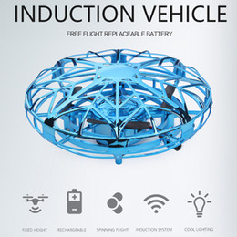 Best Toy Helicopters Australia - RC Helicopter Hand-Controlled Flying Ball Interactive RTF Infrared Induction Helicopter Remote Control Best Toys Gift