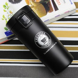 $enCountryForm.capitalKeyWord NZ - Hot Bilayer 304 Stainless Steel Insulation Thermos Cup Coffee keep Mug Thermo Mug water for bottle Beer Thermo Mugs Auto Car C18112301