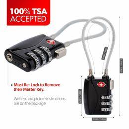 Resettable padlocks online shopping - 2019 Newest Hot TSA Resettable Digit Combination Lock Travel Luggage Suitcase Code Padlock SEA