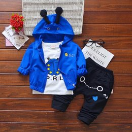 $enCountryForm.capitalKeyWord NZ - Baby Boys And Girls Suit Brand Tracksuits Kids Clothing Set Hot Sell Fashion Spring Autumn Long Sleeve Garment Cartoon three piece suit Mate
