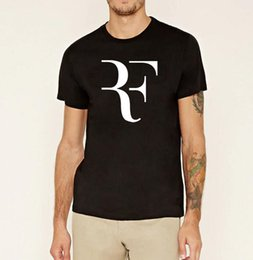 Xs mma shorts online shopping - Fashion roger federer black brand clothing men mma Perfect print mma t shirts Short Sleeve Cotton hip hop homme tops tee