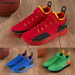 f74b82148ac Hot sale designer shoes KD 11 Sport Shoes Kevin Durant 11s Zoom mens  running Athletic off shoes white luxury KD EP Elite Low Sneakers