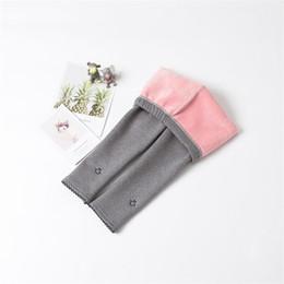 $enCountryForm.capitalKeyWord Australia - BibiCol 2018 children pants autumn winter new thick cotton trousers kids girls plus velvet pants for girls warm leggings