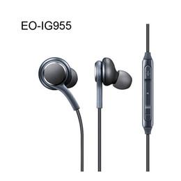 Headset oem online shopping - S8 Headset Genuine Black In Ear Headphones EO IG955BSEGWW Earphones Handsfree For Samsung Galaxy S8 S8 Plus OEM Earbuds in Box EAR331