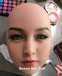 $enCountryForm.capitalKeyWord Australia - Top Quality Lifelike sex doll head for silicone doll, realistic Japanese male love doll head, oral doll sex toys