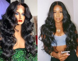 Wet Brown Australia - Brazilian Wet and Wavy Full Lace Human Hair Wigs For Black Women Glueless Natural deep Water Wave Lace Front Wigs With Baby Hair