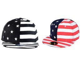 $enCountryForm.capitalKeyWord UK - Women Men Baseball Cap Flat Brim American Flag Embroidered Hat Headwear Outdoor Sports Wear With Adjustable Back Closure