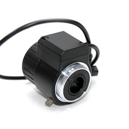 Wholesale 6MP mm VF Manual Zoom Auto IRIS F1 quot CS Mount Lens FOR HD Security IP Camera