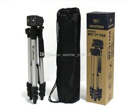 dslr camera bag sony Australia - WT-3110A Portable Lightweight Camera Tripod & Ball Head + Carrying Bag + phone clip For Canon Nikon Sony DSLR Camera DV