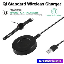 $enCountryForm.capitalKeyWord NZ - Black White Magnetic Fixed Charger Power Supply 1m USB Cable Portable for Huawei GT Honor Magic Smart Watch