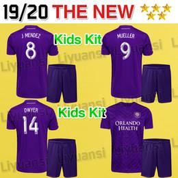 Orlando City Shirt Kaka Australia - New #10 KAKA kids kit MLS 2019 2020 thailand quality Orlando City soccer jersey 19 20 boys DWYER COLMAN football jerseys shirts