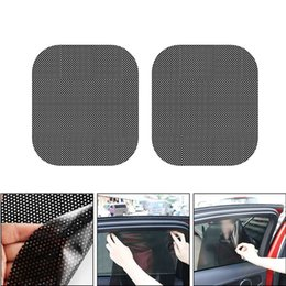 Front Window Stickers Australia - Car Exterior Accessories Car Sunshade Electrostatic Stickers Front Rear Side Window Sun Shade Static Cling Visor Sticker
