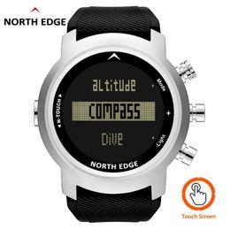 $enCountryForm.capitalKeyWord Australia - NORTH EDGE Men Smart Sport Watch Depth Gauge Altimeter Barometer Compass Thermometer Pedometer Digital Watch Diving Climbing New
