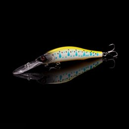 lips fish NZ - Walk Fish 1pcs 12cm 13.3g Professional Wobbler Suspend Minnow 2-3m Depth Long Lip Fishing Lure Bass Pike Artificial Baits