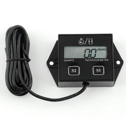 $enCountryForm.capitalKeyWord Australia - Digital LCD Display Engine Tach Hour Meter Tachometer Gauge Inductive For Motorcycle Motor Stroke Engine Spark Hot 20