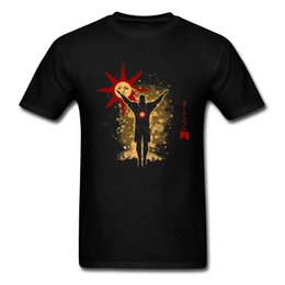 $enCountryForm.capitalKeyWord Australia - 2019 New T Shirt Men Cotton T-shirts Praise The Sun Tee Male Dark Souls 3 Tshirt Gamer Idea Gift Tops Black Streetwear Oversized