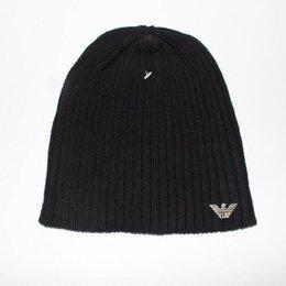 8ff8687ab39 2018 mens designer hats bonnet winter beanie knitted wool hat plus velvet  cap skullies Thicker mask Fringe beanies 21753
