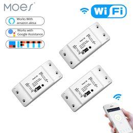 $enCountryForm.capitalKeyWord Australia - 3PCS DIY WiFi Smart Light Switch Universal Breaker Timer Wireless Remote Control Works with Alexa Google Home 3 Pieces