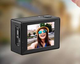"Professional Camera Wholesale Australia - New -4K Sports Camera H29 Mirror Camera 4K   30fps 1080P Sports WiFi 2.0 ""170D Helmet Cam Underwater Waterproof Professional Camera"