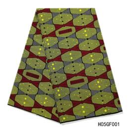 $enCountryForm.capitalKeyWord Australia - Most Popular Hollandais Wax High Quality African Print Waxs Fabric 100% Cotton Wax Hollandais Guaranteed Dutch Wax 6 Yards For Sewing