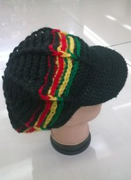 $enCountryForm.capitalKeyWord Australia - Bob Marley Jamaica Rasta Beanie Hat Warm Cap Winter Reggae Multi-colored Hip Hop