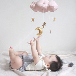 $enCountryForm.capitalKeyWord Australia - Nordic Baby Bedding Set Newborn Baby Bed Tent Hanging Clouds And Stars Toy Crib Ornament Photo Props Infant Room Home Decoration