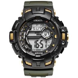 $enCountryForm.capitalKeyWord Australia - BRW LED digital Wrsitwatches SMAEL Army Gold Clocks Men S Shock Resistant Military Watches Band 1532A Sport Wtaches 50M Waterproof