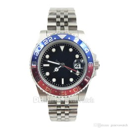 $enCountryForm.capitalKeyWord NZ - luxury watch GMT mechanical automatic movement 126710BLRO wristwatches 24 hours red blue ceramic bezel mens watches auto date Mes Watches