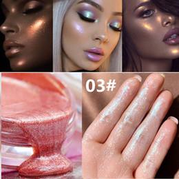 $enCountryForm.capitalKeyWord Australia - Jelly Body Glitter Tattoo Gel Glow Shimmer Shiny Liquid Highlighter Cream Shimmer Mermaid Eye Shadow Face Highlighter Face Illuminator