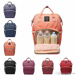 $enCountryForm.capitalKeyWord NZ - Diaper Bags Mommy Backpack Nappies Backpack Fashion Mother Maternity Backpacks Outdoor Desinger Nursing Travel Bags Organizer
