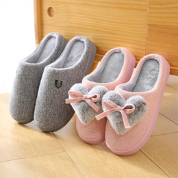$enCountryForm.capitalKeyWord Australia - New style cotton slippers in winter indoor loving couple cotton slippers ribbed floor anti-skid wear-resistant thick sole